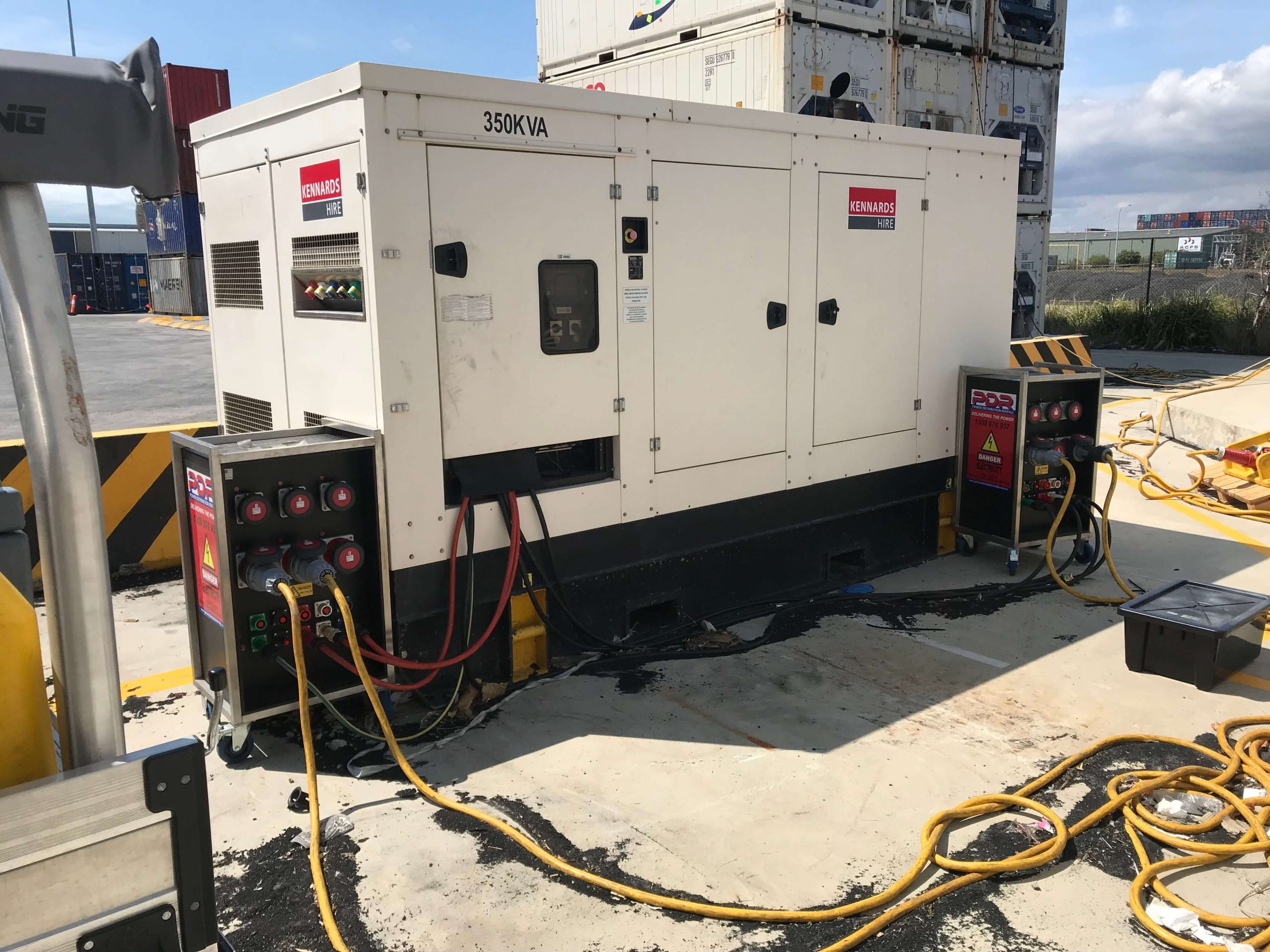 Generator Connections Disconnections