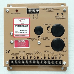 ESD5550E Electronic Engine Speed Controller/Governor